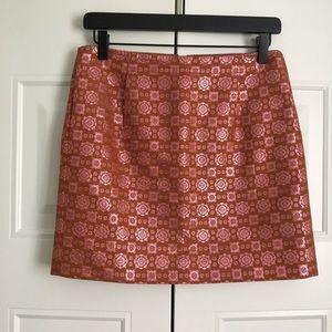 J.Crew Metallic Detail Skirt
